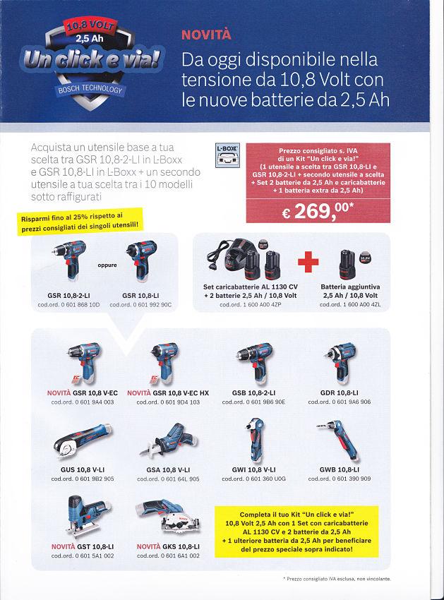 bosch offerta utensili elettrici olgiate comasco