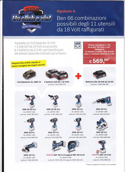 bosch offerta utensili elettrici ogliate comasco
