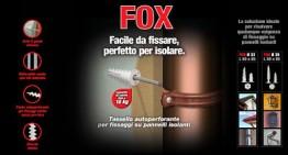 Fox- Tassello per cappotto termico