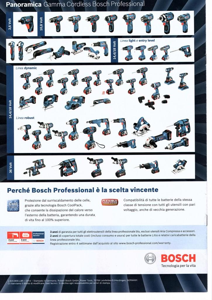 utensili a batteria bosch professional ferramenta como