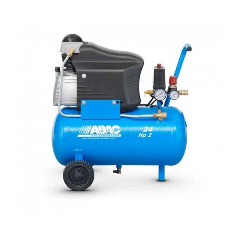 compressore litri 24 hp2 ferramenta como